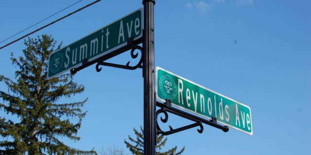 Historic Street Signs