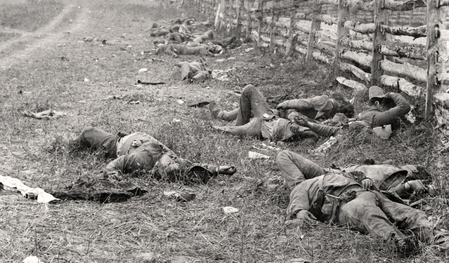 The bloodiest battle of the civil war, Antietam was only a little under 12 miles south of the Mansion House