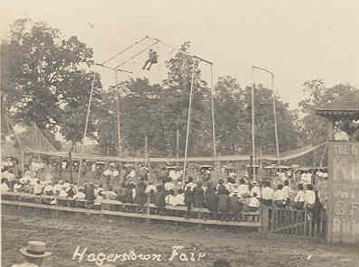 Hagerstown Fair October 13th 1852 in Heyer's Woods.