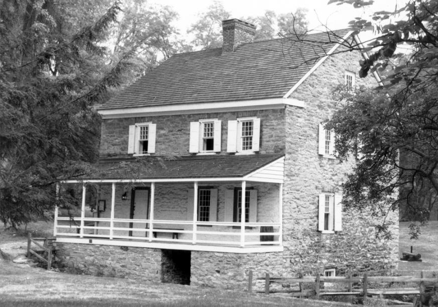 The Hager House in 1980.