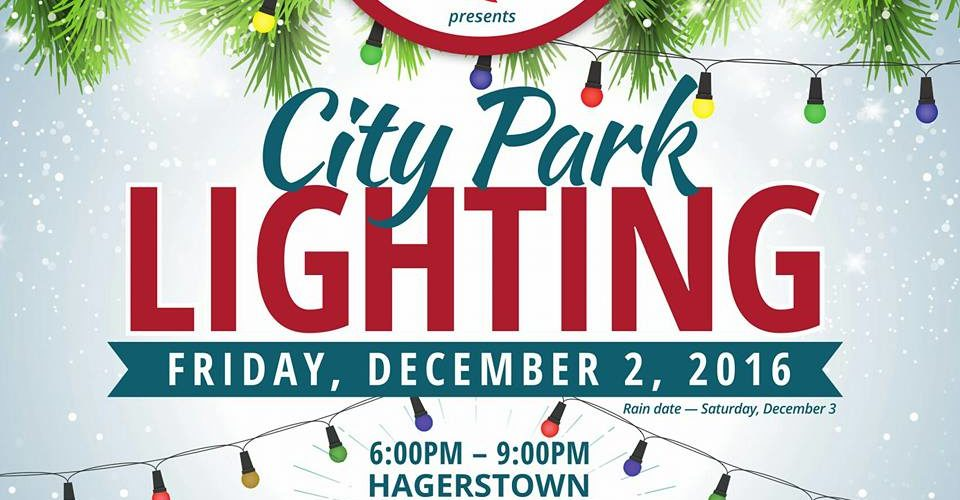 City Park Tree Lighting